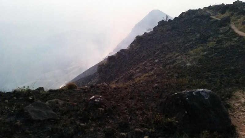 Fire on Kumara Parvatha trek