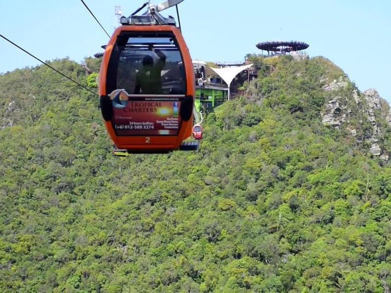 Jatayu nature park ropeway