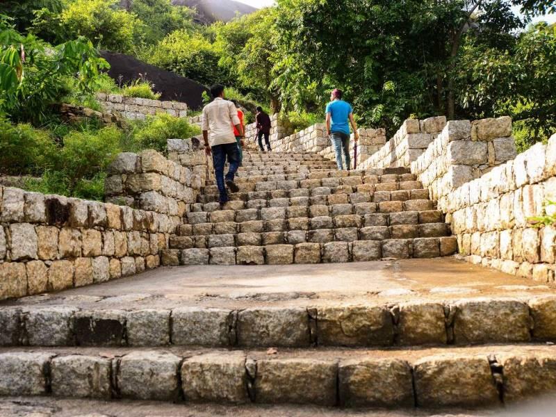 Jatayu nature park walkway