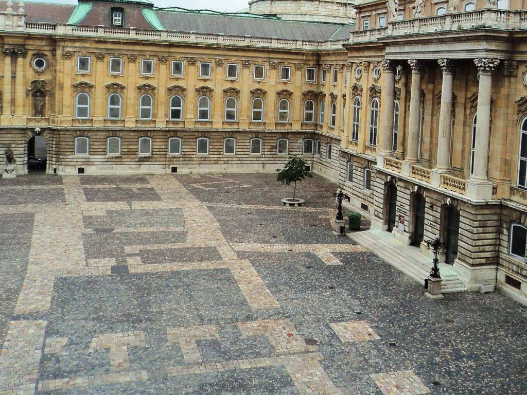 Lion's courtyard Buda castle