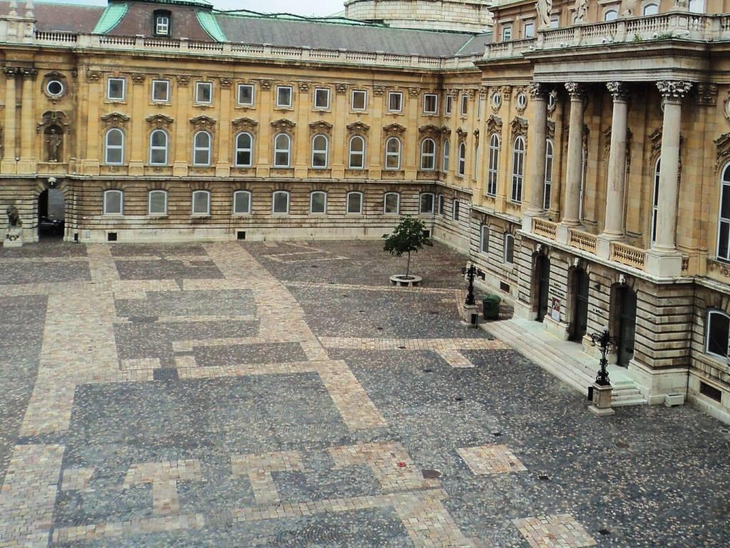 Lion's courtyard Buda castle