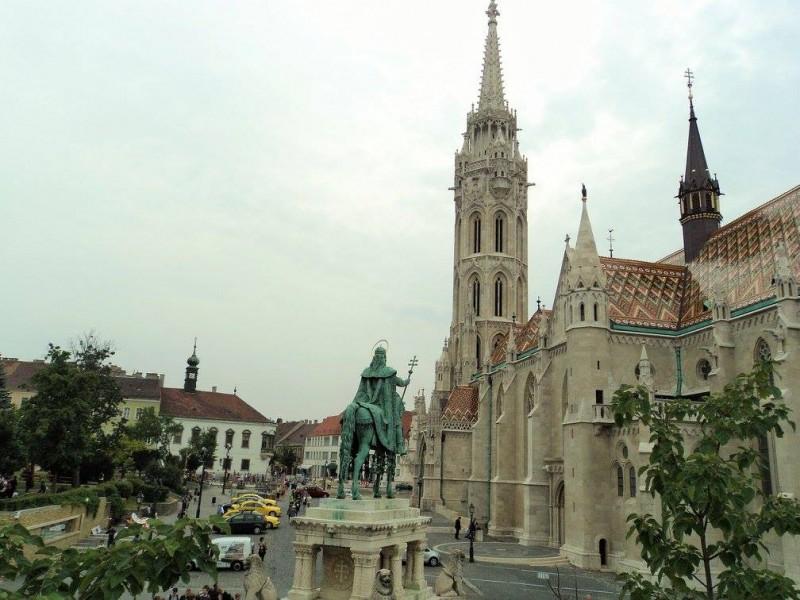 Matthias Church in the compund of Fisherman's bastion