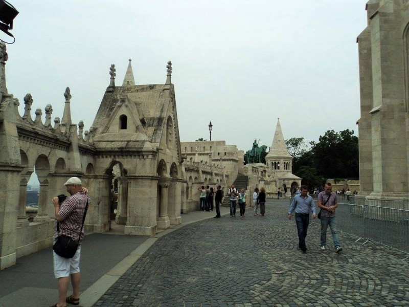Ramparts of fisherman's bastions
