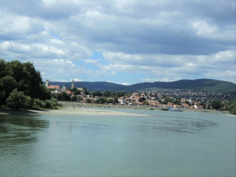 Szentendre as seen from boat