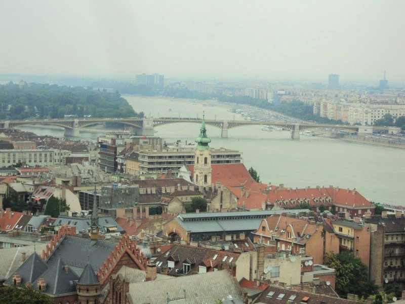 View of river Danube from Fisherman's bastion