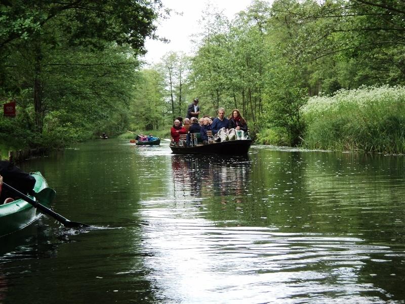 Spreewald main canal