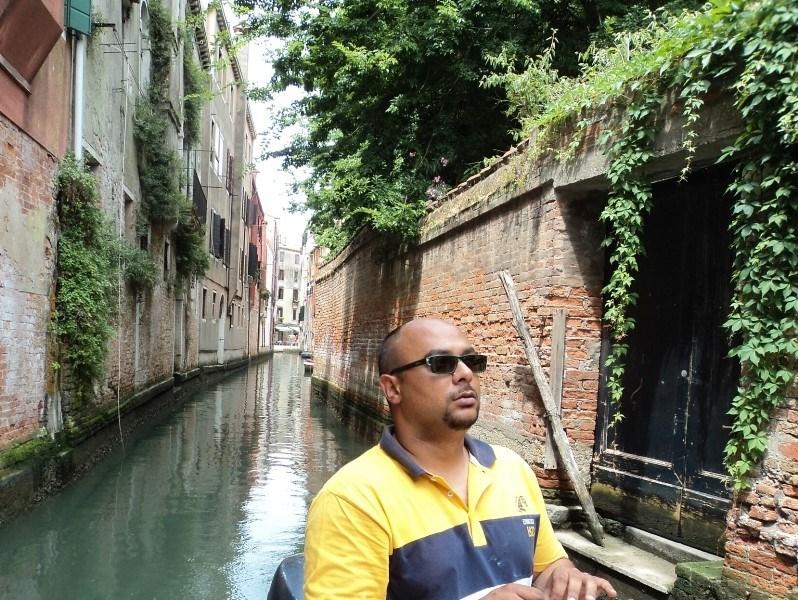 Venice boat guy