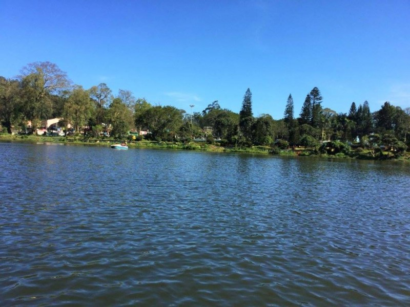 Yercaud lake for boating