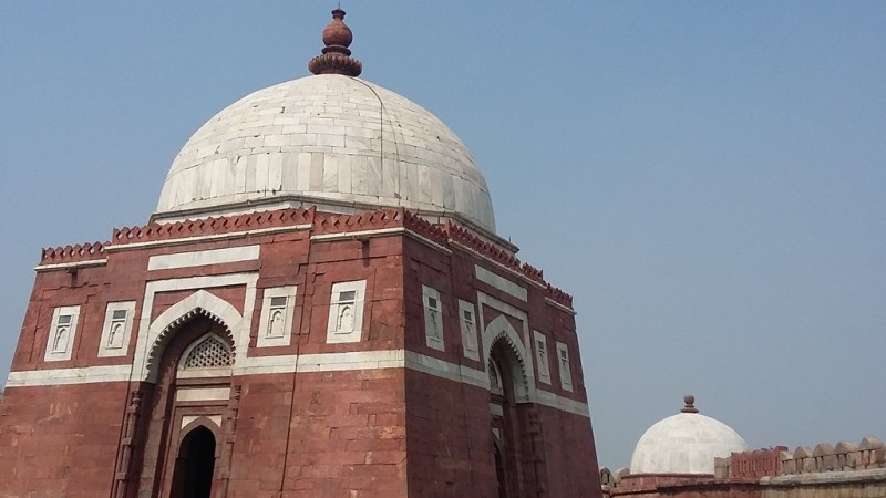 Tughlaqabad fort tomb, Delhi