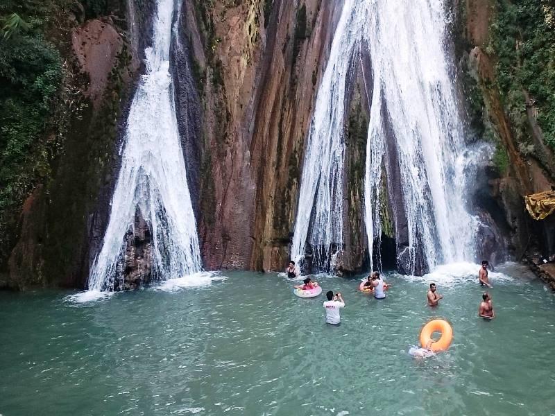 Mussoorie trip with Hardyhawks at Kempty falls Mussoorie