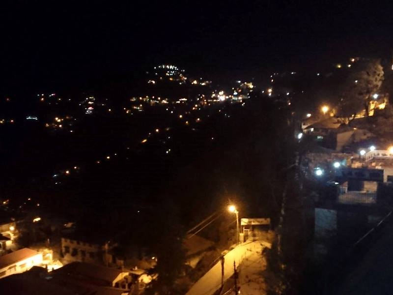 Mussoorie trip with Hardyhawks, Mussoorie at night