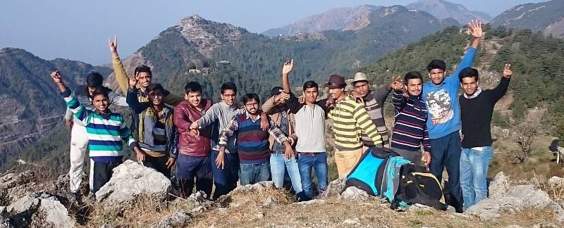 Mussoorie trip with Hardyhawks adventures, trekking in Mussoorie