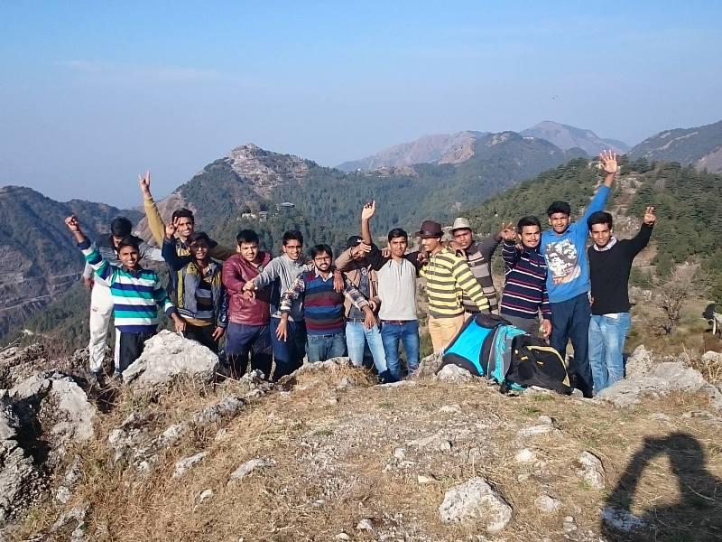 Mussoorie trip with Hardyhawks adventures, trekking in Mussoorie