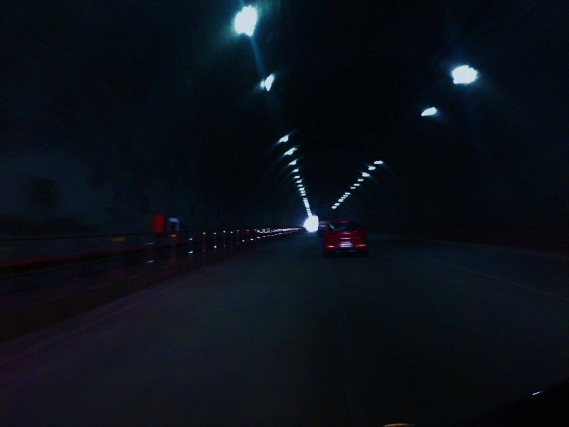Tunnel after Hospet before Hampi
