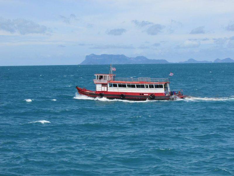Koh Tao island ferry
