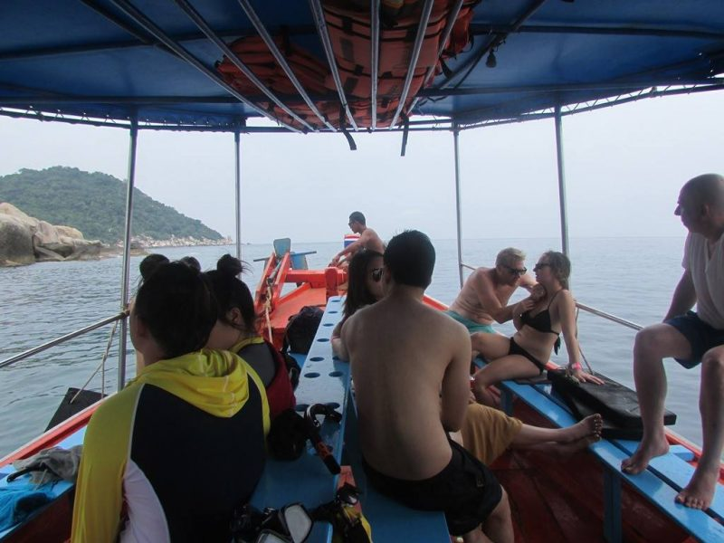 Koh Tao island tour for snorkeling