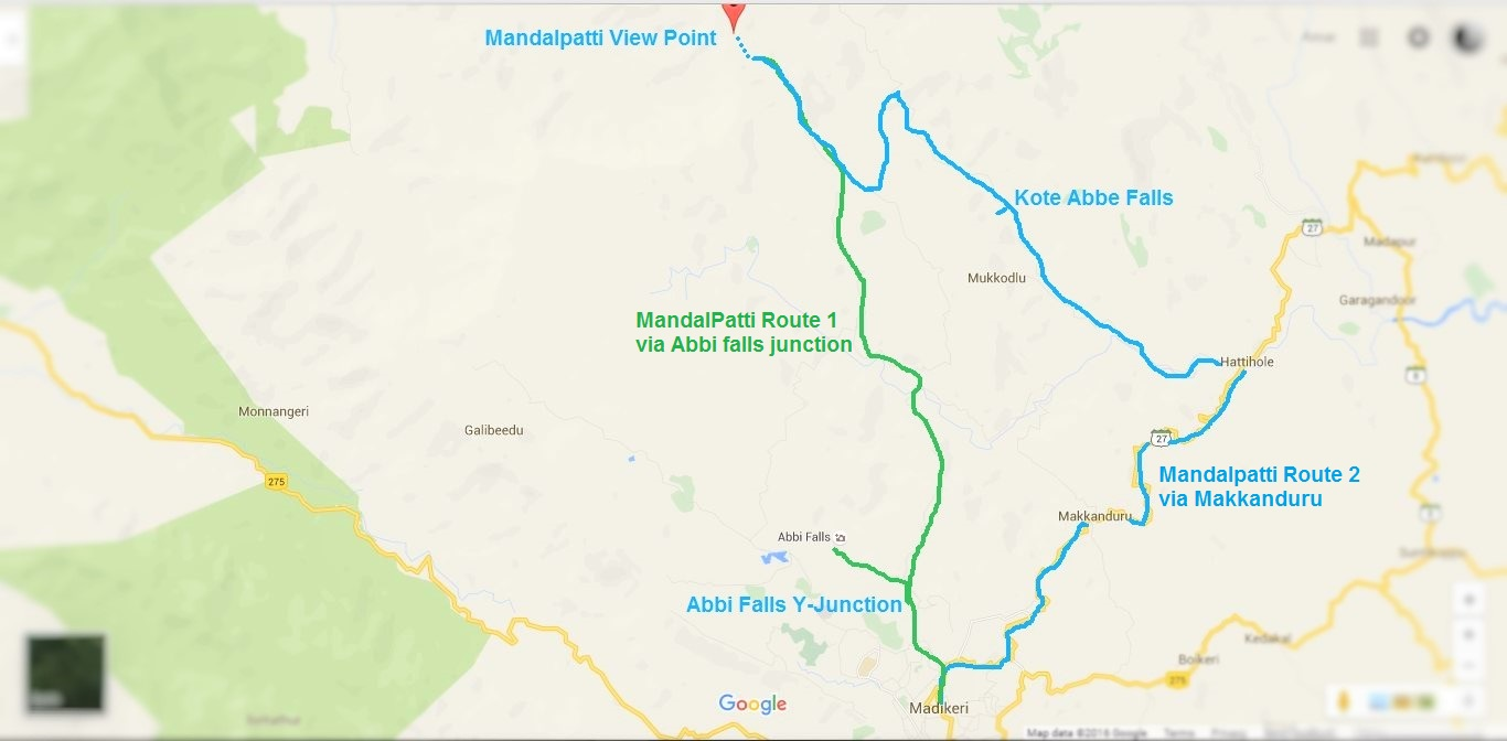 Mandalpatti travel map