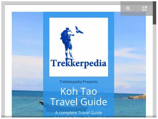 free Koh Tao Travel Guide pdf for download