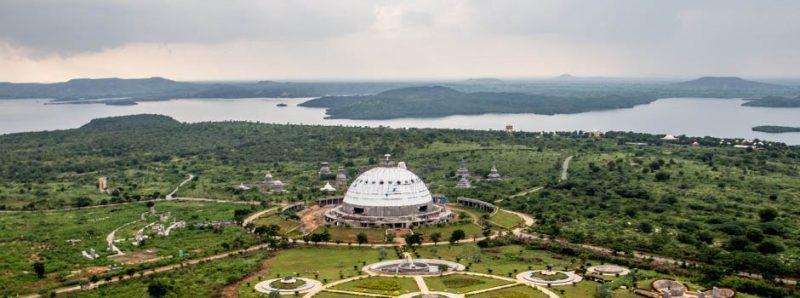 Buddhavanam near Nagarjuna sagar dam, Telangana