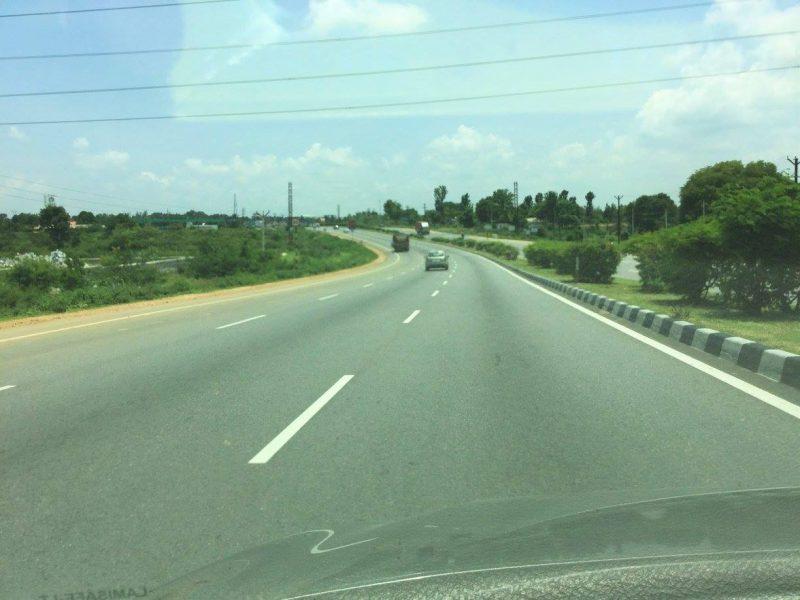 En route Yelagiri from Krishnagiri