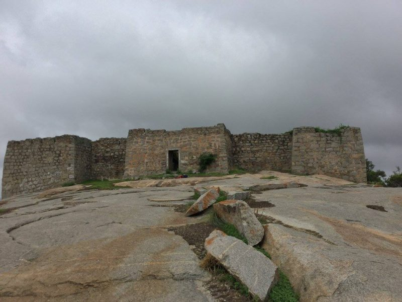 Fort at Madhugiri Betta top