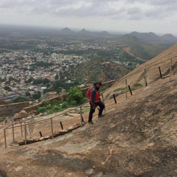 Madhugiri fort trekking