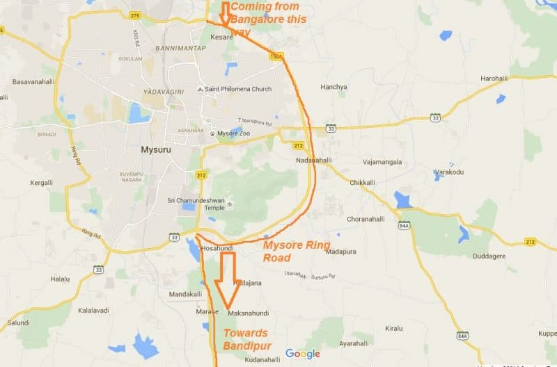 Mysore ring road