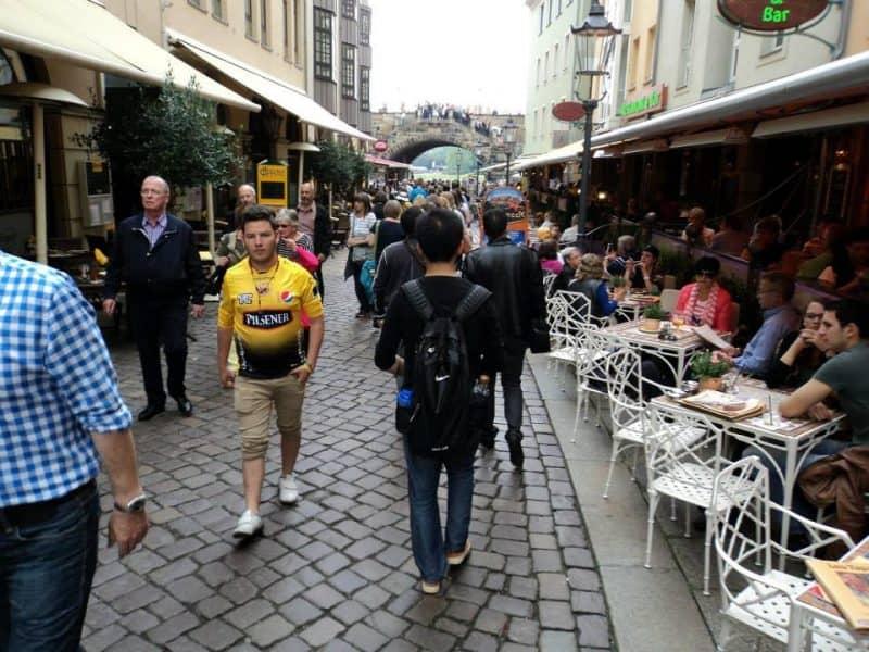 Dresden busy street