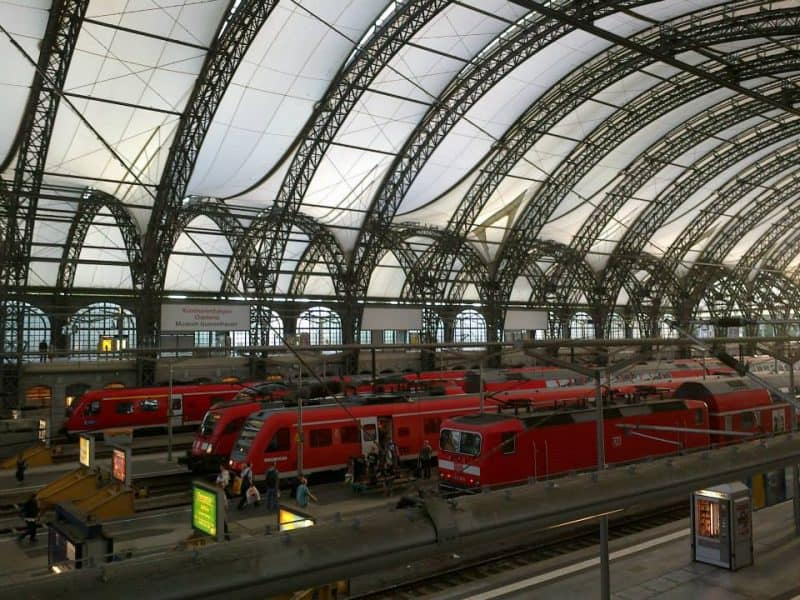 Dresden railway station