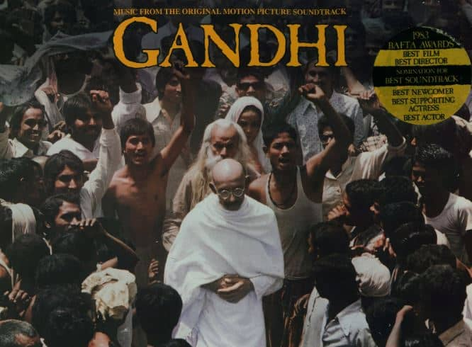Gandhi movie, one of the finest indian films