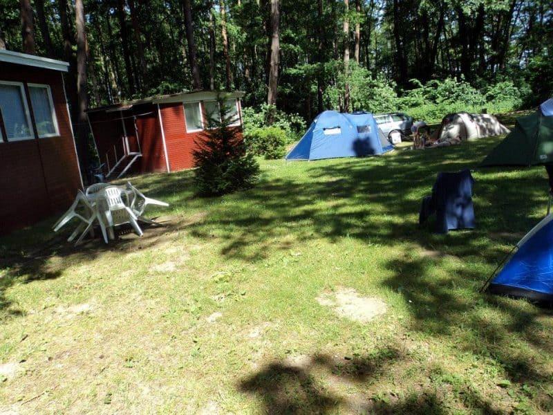 camping area near Himmelpfort
