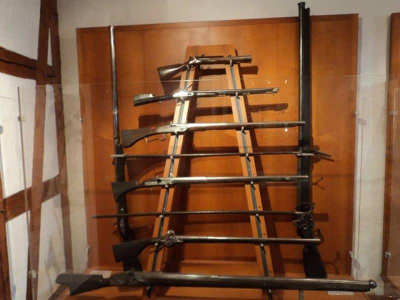 guns inside nuremberg castle