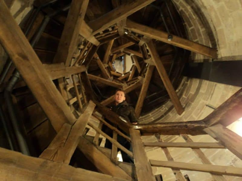inside sinwell tower