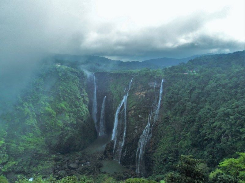 Jog falls from Jog falls viewpoint