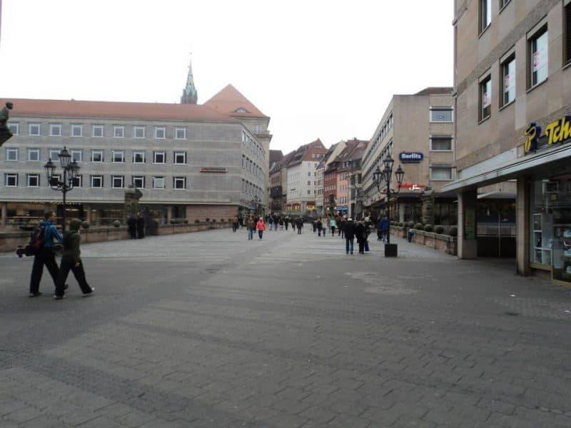 Nuremberg old town square