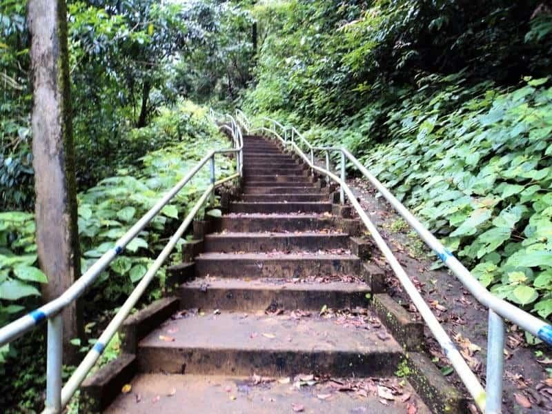 Yana stairs