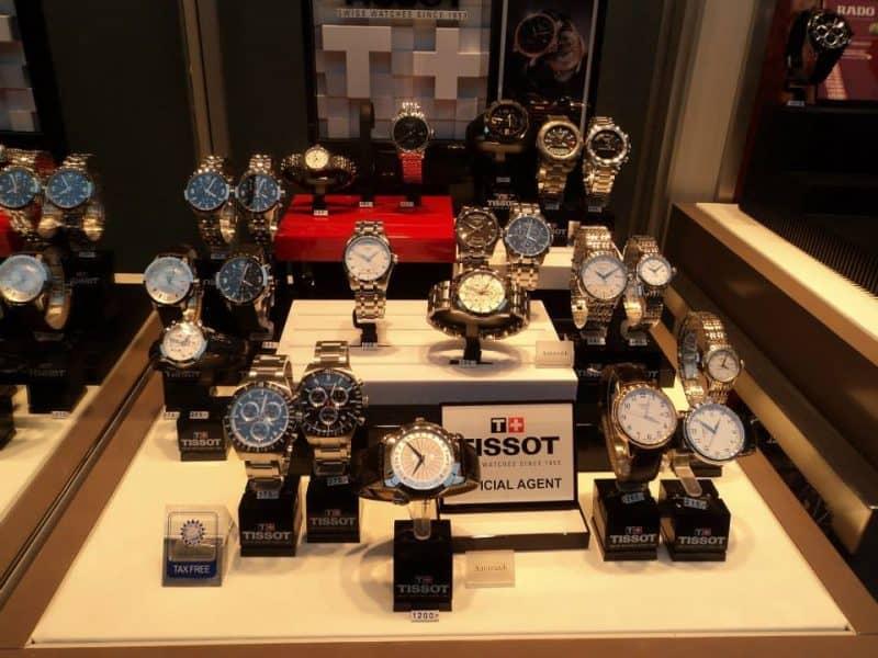 a watch showroom in nuremberg
