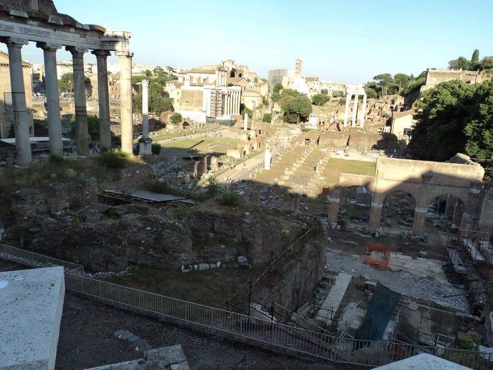 Remains of Roman Forum