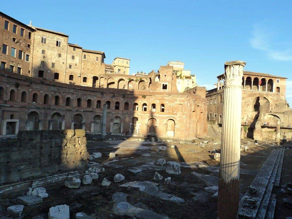Ancient Temples of Roman Forums