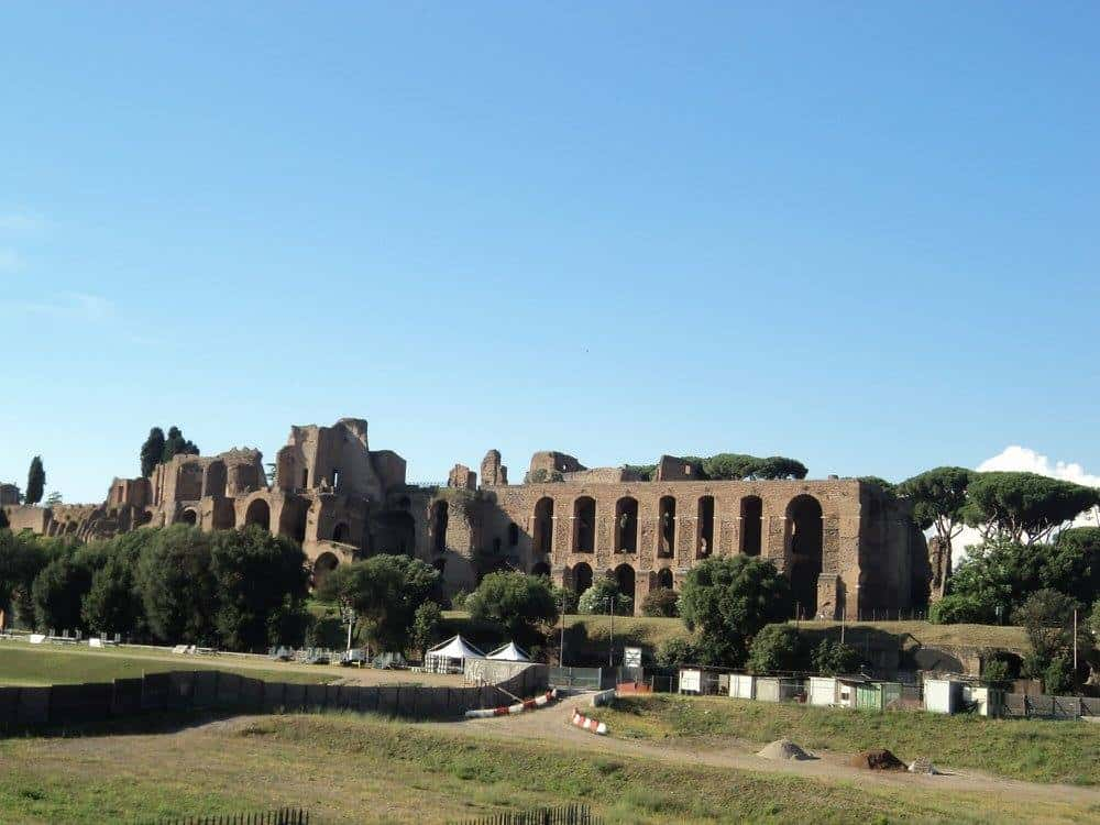 Remains of Medieval rome