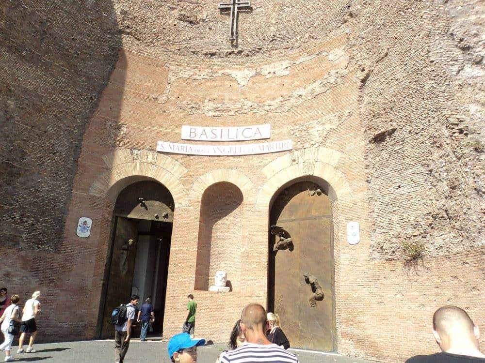basilica st. maria degli angeli rome