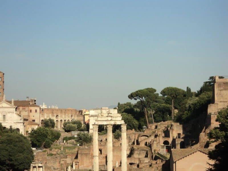 Roman Forum in Noon