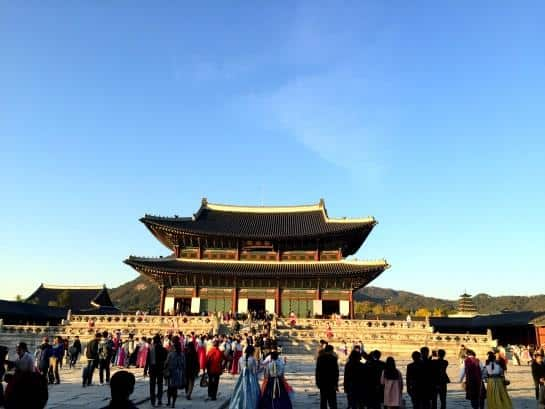 Gyeongbokgung palace, Seoul South Korea (1)