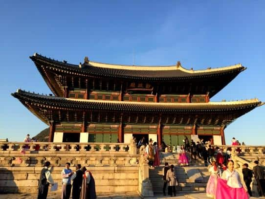 Gyeongbokgung palace, Seoul South Korea (2)
