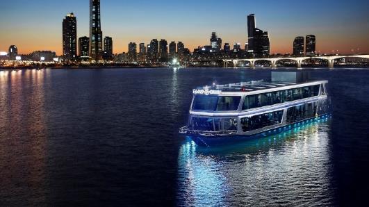 Hangang river city cruise