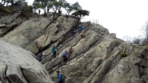 Hiking in Bukhansan National Park (7)