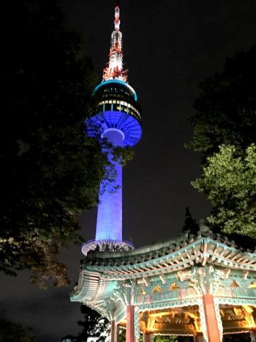 N Seoul Tower Namsam tower