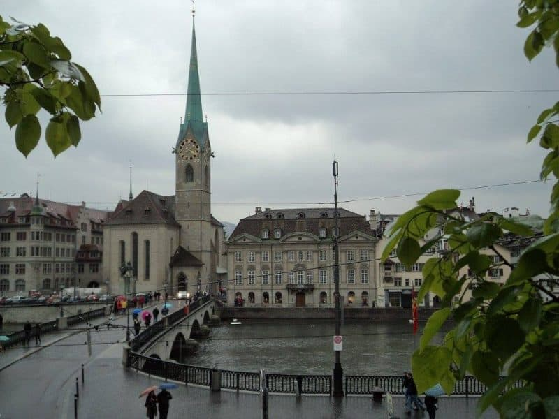 GrossMunster church in Zurich