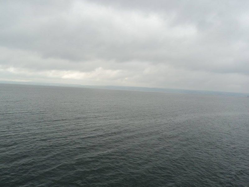 Lake constance on a cloudy day