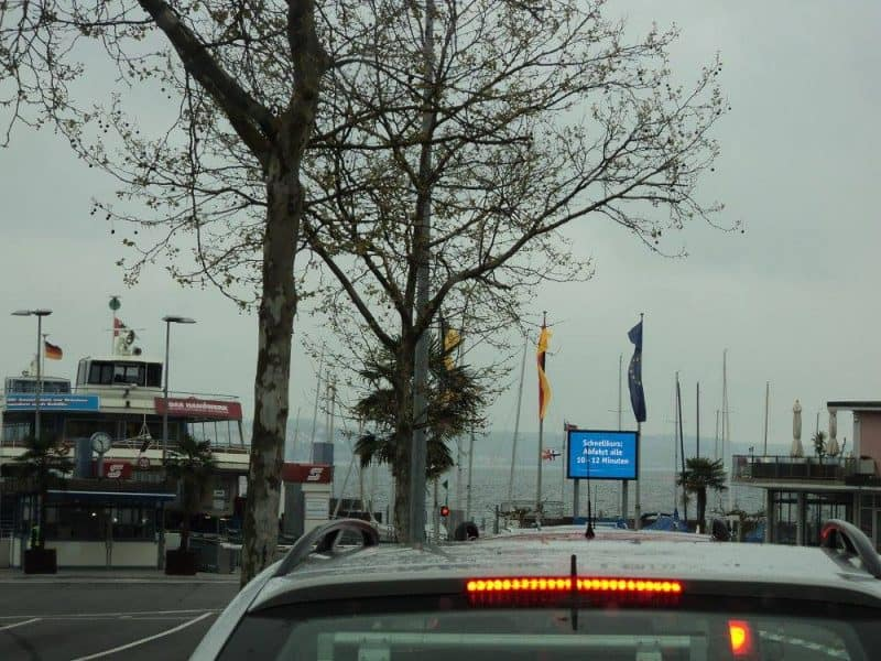 Near ferry point on lake Constance